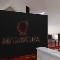 Q.Maravilha: Espaços de restauração  por moffitdesign