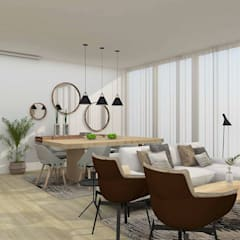Dining room by moffitdesign