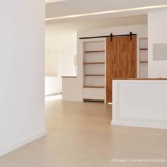Hall de entrada: Corredores e halls de entrada  por all Design  [Arquitectura e Design de Interiores]