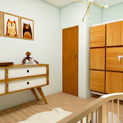 Baby room by Fark Arquitetura e Design