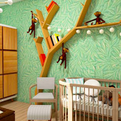 Babykamer door TRAIT ARQUITETURA E DESIGN