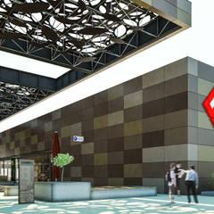 Camara 3 - Bloque de supermercado: Shoppings y centros comerciales de estilo  por DUSINSKY S.A.