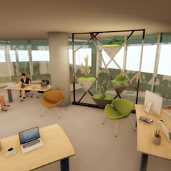Pil Tasarım Mimarlik + Peyzaj Mimarligi + Ic Mimarlik – Ofis Ic Mekan Peyzaj Projesi :  tarz Çalışma Odası