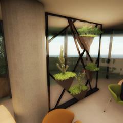 Pil Tasarım Mimarlik + Peyzaj Mimarligi + Ic Mimarlik – Ofis Ic Mekan Peyzaj Projesi :  tarz Koridor ve Hol