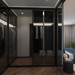 Квартира в современном стиле: Гардеробные в . Автор – design4y
