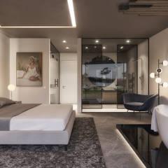 غرفة نوم تنفيذ Tendenza -  Interiors & Architecture Studio