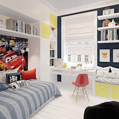 country Nursery/kid's room by design4y