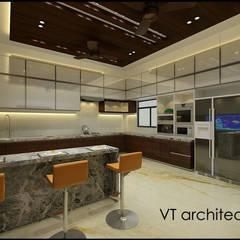 Villa Project: modern Kitchen by VT architects