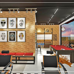 Commercial Spaces توسطAmbientando Arquitetura & Interiores, مدرن
