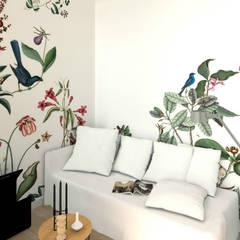 Dormitorios de estilo  por MJ Intérieurs