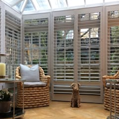 Shutters For A Stunning Conservatory And Just In Time For The Spring Sunshine Too:  Conservatory by Plantation Shutters Ltd
