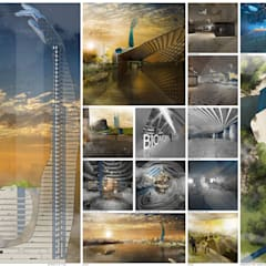 Touch the sky with a finger: Hotel in stile  di interiorstudio
