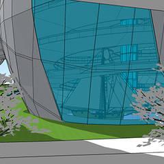 Touch the sky with a finger: Musei in stile  di interiorstudio
