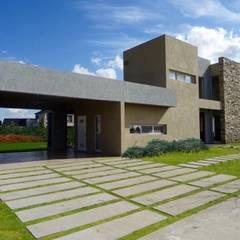 by Estudio Dillon Terzaghi Arquitectura - Pilar Minimalist Stone