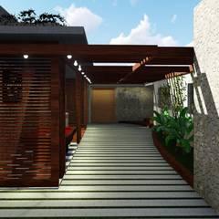 Área de Lazer: Terraços  por NM Arquitetura e Urbanismo