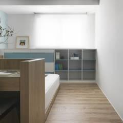 雙橡園Y宅:  嬰兒房/兒童房 by Ho.space design 和薪室內裝修設計有限公司