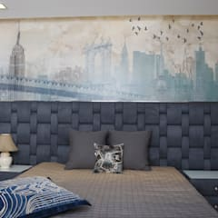 Boys room: asian Bedroom by QBOID DESIGN HOUSE
