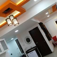 Mr. Udaybhan Singh Thakur Retirement Home: minimalistic Dining room by al-Haadi Interiors