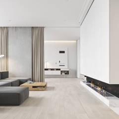BACHELOR: Salon de style de style Minimaliste par Vica Riviera