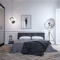 ИНТЕРЬЕР АM: Chambre de style de style Minimaliste par Vica Riviera