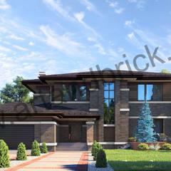 منازل تنفيذ Архитектурное бюро Art&Brick