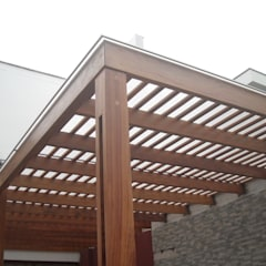 Roof by GRUPO CONSARQ, Modern Wood Wood effect