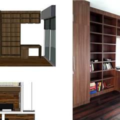 Ghatkopar residence:  Study/office by Rennovate Home Solutions pvt ltd