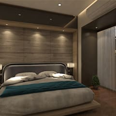 Bedroom by Hinge architects ,