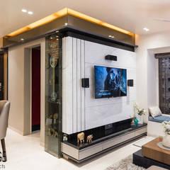 Wohnzimmer von Hinge architects