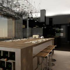 Cocina: Cocinas equipadas de estilo  por CB Luxus Inmobilien