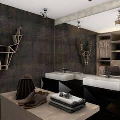 Remodelación Departamento Temuco: Walk in closet de estilo  por CB Luxus Inmobilien