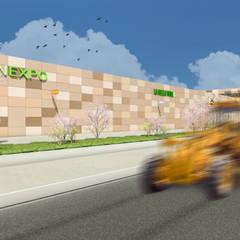 Camara 19 - Ala oeste: Shoppings y centros comerciales de estilo  por DUSINSKY S.A.