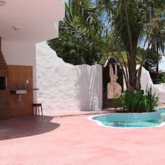 Arquitetura & Design - Marcela Tavares:  tarz Bahçe havuzu