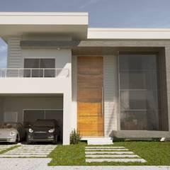 Condominios de estilo  por Gelker Ribeiro Arquitetura | Arquiteto Rio de Janeiro, Moderno