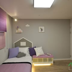 Girls Bedroom by 노마드디자인 / Nomad design