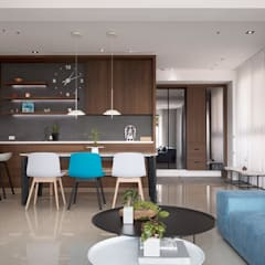 modern Living room by Fertility Design 豐聚空間設計