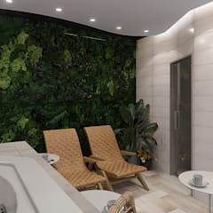 Spa de estilo  de design4y