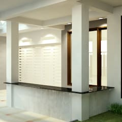Bpk. Ferry House: Carport oleh Cendana Living, Modern