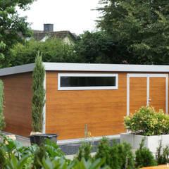 GO-ISO - hochwertiges Gartenhaus isoliert 6,00 x 3,90 m:  Gartenhaus von Trapezblech Gonschior oHG