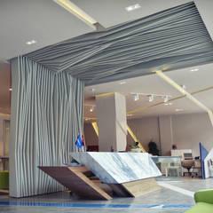 HePe Design interiors – Bilge İnox :  tarz Ofis Alanları
