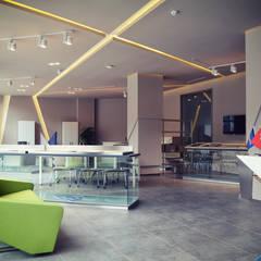 HePe Design interiors – Bilge İnox:  tarz Ofisler ve Mağazalar
