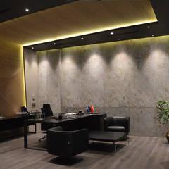 HePe Design interiors – Bilge İnox:  tarz Ofis Alanları