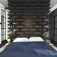 Bedroom by MODULO Pracownia architektury wnętrz,