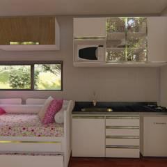 置入式廚房 by Locares Casa Container e Projetos Customizados