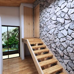 Wooden houses by Arquitecto Javier Escobar