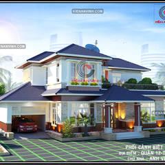 Villa by Cong ty thiet ke nha biet thu dep Kien An Vinh