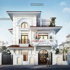 Villas by Cong ty thiet ke nha biet thu dep Kien An Vinh