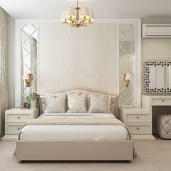 3к.кв. в ЖК Новокосино (Москва) (95 кв.м): Спальни в . Автор – ДизайнМастер