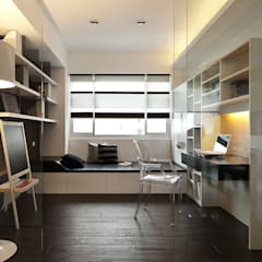 modern Study/office by 禾光室內裝修設計 ─ Her Guang Design