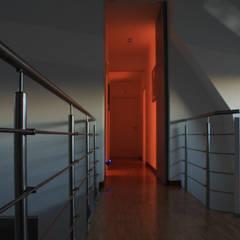 Villa Giusy: Ingresso & Corridoio in stile  di Kei_en.enzocalabresedesignstudio Srl